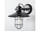 Уличный настенный светильник Loft 10802016 (модерн, черный)