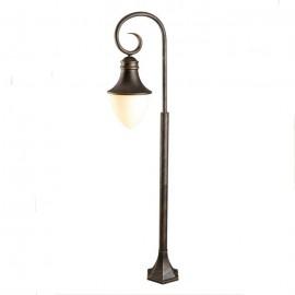 Уличный наземный светильник ArteLamp A1317PA-1BN (классика, черное золото)