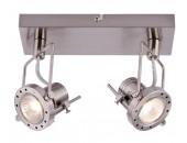 Светильник настенно-потолочный спот ArteLamp A4300AP-2SS COSTRUTTORE, никель