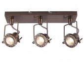 Светильник настенно-потолочный спот ArteLamp A4300PL-3AB COSTRUTTORE, бронза