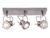 Светильник настенно-потолочный спот ArteLamp A4300PL-3SS COSTRUTTORE, никель