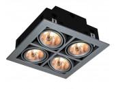 Точечный встраиваемый светильник ArteLamp A5930PL-4SI