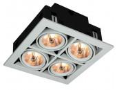 Точечный встраиваемый светильник ArteLamp A5930PL-4WH