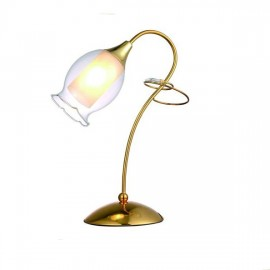 Настольная лампа ArteLamp A9289LT-1GO (золото, флористика)