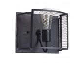 Бра Divinare 5008/04 AP-1 RETE (черный, лофт)