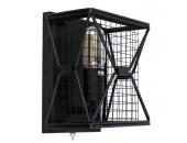Бра Divinare 5009/04 AP-1 RETE (черный, лофт)