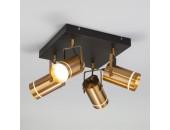 Светильник потолочный спот Евросвет 20063/4 LED Bronze (бронза-коричневый, модерн)