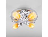 Люстра потолочная Евросвет 30151/4 Potpourri (хром-желтый, детский)