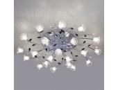 Люстра потолочная Евросвет 80114/21 Florescence LED (хром, хай-тек)