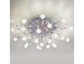 Люстра потолочная Евросвет 80115/23 Bloomy LED (хром, хай-тек)