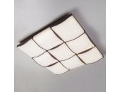 Люстра потолочная Евросвет 90031/9 LED Relief (с пультом, кофе, хай-тек)
