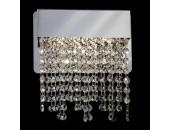 Светильник настенный Евросвет 90053/1 LED Royal (хрусталь, хром, модерн)