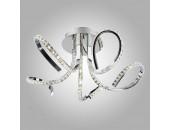 Люстра потолочная Евросвет 90063/5 Miracle LED с хрусталем (хром, хай-тек)