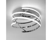 Люстра потолочная Евросвет 90229/3 LED Breeze (хром, хай-тек)