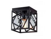 Светильник потолочный Favourite Loft 1785-1U BROOK (черный, винтаж)