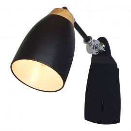 Светильник настенный спот LOFT IT LOFT4402W-BL Restor, черный