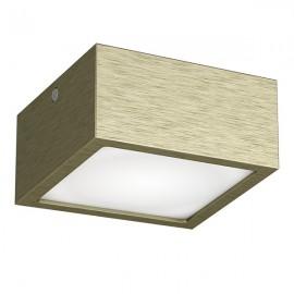 Точечный накладной влагозащищенный светильник Lightstar  ZOLLA QUAD LED-SQD 213921 бронза