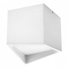 Точечный накладной влагозащищенный светильник Lightstar QUADRO LED 214476 белый