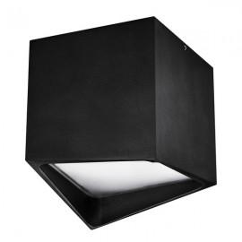 Точечный накладной влагозащищенный светильник Lightstar QUADRO LED 214477 черный