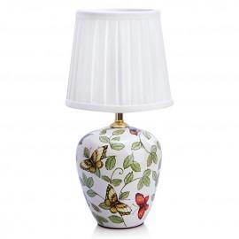 Настольная лампа MarkSlojd 107039 Mansion (белый-разноцветный, флористика)