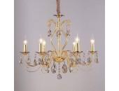Люстра подвесная Newport 10806/S gold (с хрусталем, золото, классический)