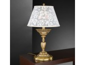 Настольная лампа  Reccagni Angelo P 9001 G (классический, бронза-фарфор)