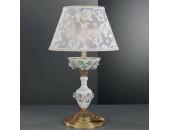 Настольная лампа  Reccagni Angelo P 9100 P (классический, золото-фарфор)