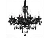 Люстра подвесная ST Luce SL642.403.08 ODILIA (черный, классический)