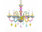 Люстра подвесная ST Luce SL672.783.06 ORNATO (разноцветный, детский)