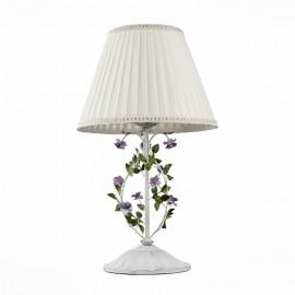 Настольная лампа ST Luce SL695.504.01 FIORI (белый, флористика)