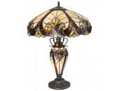 Настольная лампа Svetresurs/Светресурс 815-804-03 (тиффани, бордовый)
