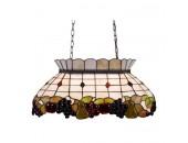 Светильник подвесной Svetresurs/Светресурс 850-803-03 (на цепи, тиффани, оранжевый)