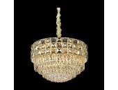 Люстра подвесная Wertmark WE133.16.303 SABRINA (золото, модерн)