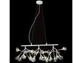 Люстра подвесная Wertmark WE241.27.003 FIORITA (белый, флористика)