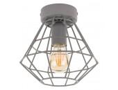 Светильник потолочный TK Lighting 2293 Diamond (серый, винтаж)