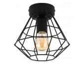 Светильник потолочный TK Lighting 2294 Diamond (черный, винтаж)