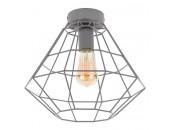 Светильник потолочный TK Lighting 2296 Diamond (серый, винтаж)