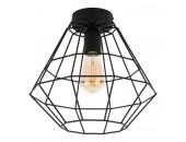 Светильник потолочный TK Lighting 2297 Diamond (черный, винтаж)