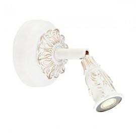 Светильник спот  L`Arte Luce L11621.47 Fular (классический, белый с золотом)
