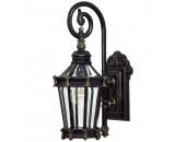 Уличный настенный светильник L`Arte Luce L73681.96 Ilford (классика, черный)