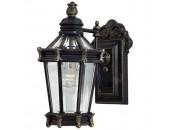 Уличный настенный светильник L`Arte Luce L73688.96 Ilford (классика, черный)
