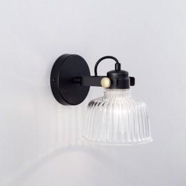 Бра спот Citilux CL448311 Спенсер (черный-прозрачный, винтаж)