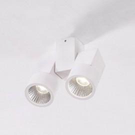 Точечный накладной светильник Citilux CL556100 Дубль (модерн, белый)