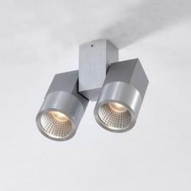 Точечный накладной светильник Citilux CL556101 Дубль (модерн, алюминий)