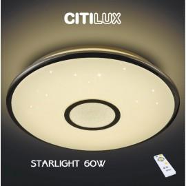 Светильник потолочный Citilux Старлайт хром CL70360R