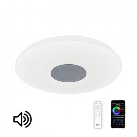 Светильник потолочный музыкальный с Bluetooth и пультом Citilux CL703M50 Light & Music