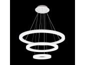 Люстра подвесная Citilux CL710104RS Электрон (на тросах, белый)