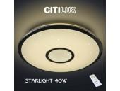 Потолочный светильник светодиодный с пультом Citilux Старлайт хром CL70340R