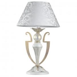 Настольная лампа  Maytoni ARM004-11-W MONILE белое золото