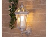 Уличный настенный светильник Elektrostandard Capella (классический, белое золото)